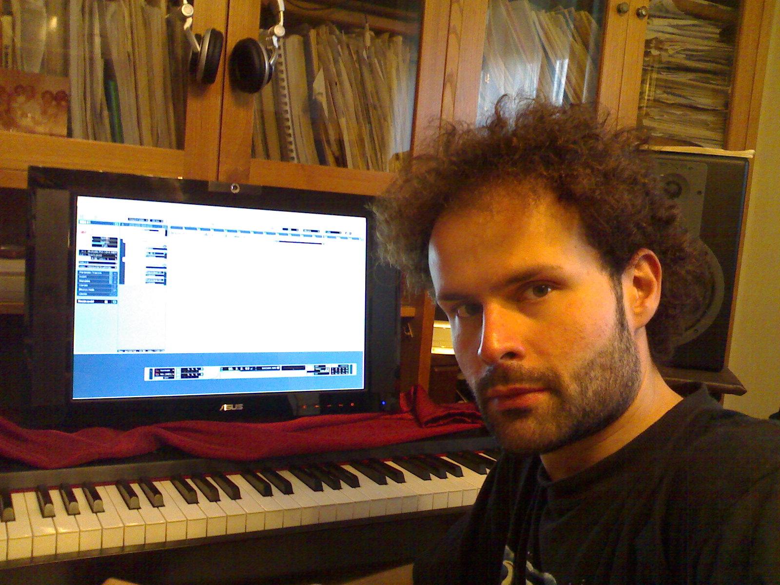 Giovanni Puliafito in Studio