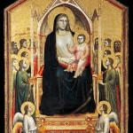 1306 - Madonna in trono - Giotto - Uffizi - Firenze