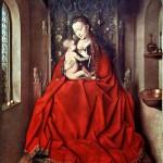 1433 - Madonna di Lucca - Jan van Eyck - Städelsches Kunstinstitut - Francoforte