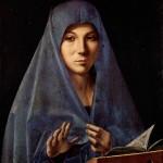 1477 - Annunciata - Antonello da Messina - Galleria Nazionale - Palermo