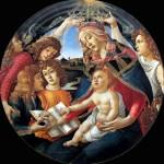 1483 - Madonna del Magnificat - Sandro Botticelli - Uffizi - Firenze