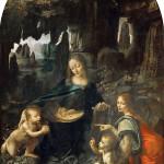 1483 - Madonna delle rocce - Leonardo Da Vinci - Louvre - Parigi