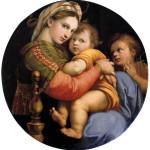 1513 - Madonna della seggiola - Raffaello - Galleria Palatina - Firenze