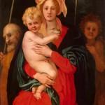1522 - Sacra Famiglia con San Giovannino - Jacopo Pontormo - Ermitage - San Pietroburgo