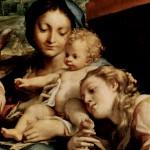 1523 - Madonna di San Gerolamo (part.) - Correggio - Galleria Nazionale - Parma