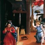 1527 - Annunciazione - Lorenzo Lotto - Pinacoteca - Recanati