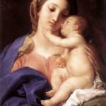1742 - Madonna col bambino - Pompeo Batoni - Galleria Borghese - Roma