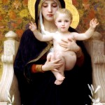 1899 - Madonna dei lillà - William Bouguereau