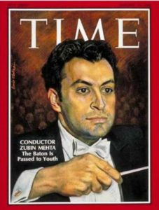 Zubin Mehta - Time Magazine [United States] (19 January 1968)