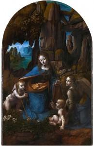 Vergine delle rocce - 2° vers (1494)