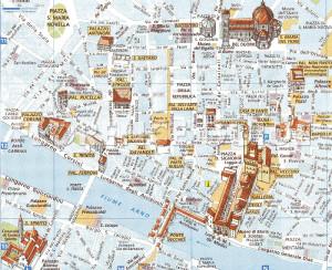 Cartina di Firenze