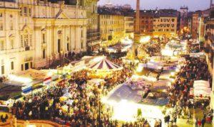 mercatini di natale roma