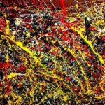 bellezza - un'opera di Pollock