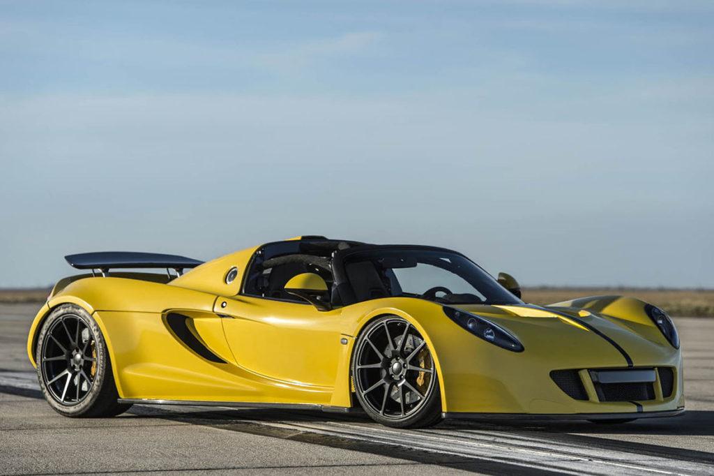 auto di servi più veloci - Hennessey Venom GT 3
