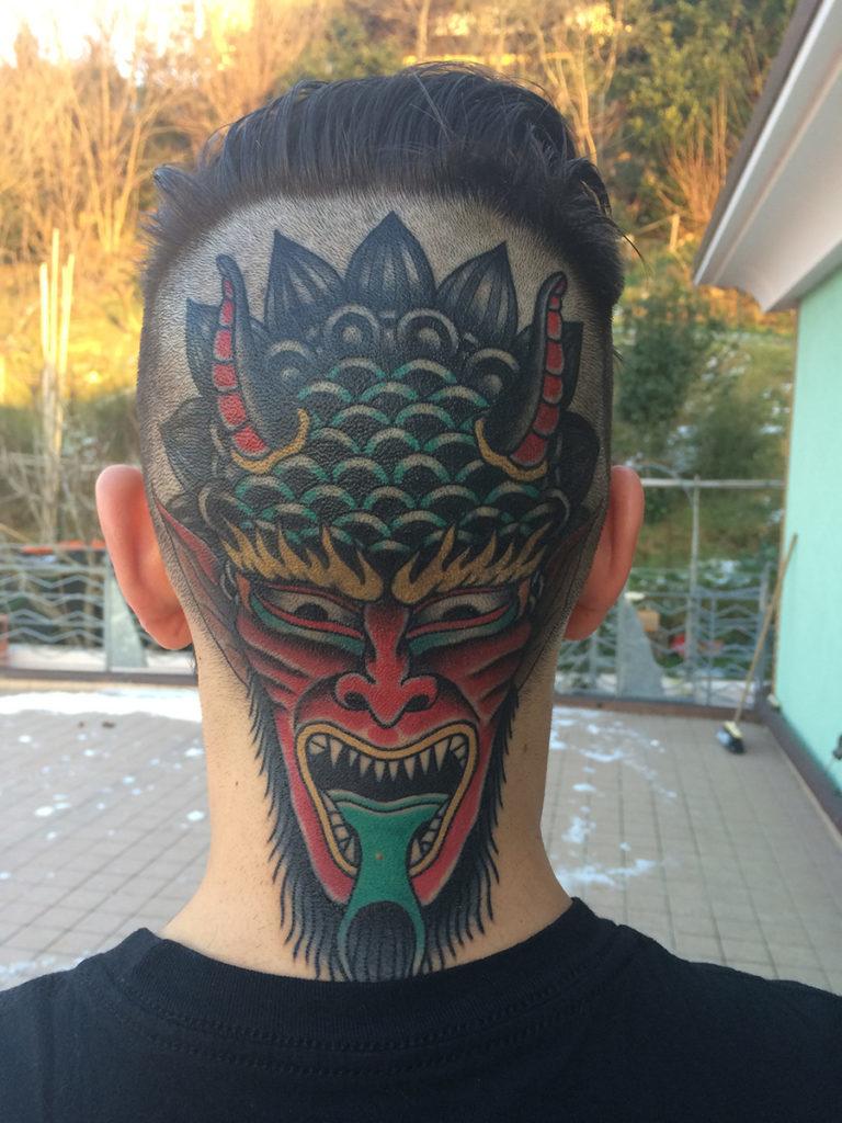 I-tatuaggi-più-belli-del-mondo nuca