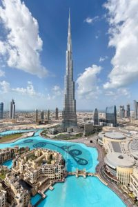 i grattacieli più alti del mondo - burj khalifa