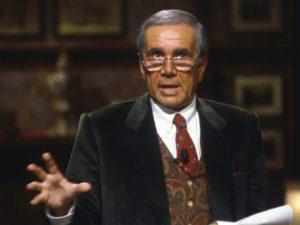 I più grandi presentatori televisivi - Primo piano di Enzo Tortora